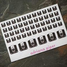 Vintage Brownie Hawkeye Camera Stickers 50 ct for by adrianapiper
