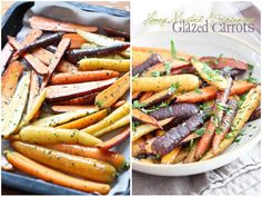 Honey Mustard Glazed Carrots   by Sonia! The Healthy Foodie