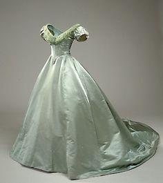 c. 1860's ballgown