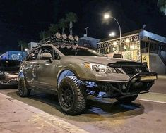 Have you ever seen a car so beautiful that if it was a woman, you would want to take her out for ice cream and show her off to your Momma? Subaru 4x4, Subaru Outback Offroad, Lifted Subaru, Subaru Cars, Lifted Cars, Subaru Forester, Subaru Impreza, Subaru Crosstrek Accessories, Off Road Adventure