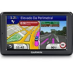 """Submarino GPS Automotivo Garmin Nüvi 2580TV Tela 5"""" Bluetooth com TV Digital e Função TTS - R$332,02"""