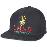 Diamond Supply Co Dmnd Crown Snapback - Men s - Black   Yellow a273fe2b9af7