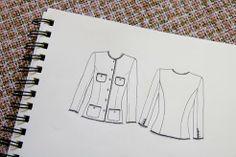 pattern ~ scissors ~ cloth: ~the chanel jacket begins~