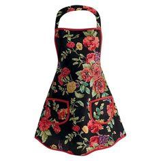 Le importazioni di progettazione Wild Rose Vintage Grembiule