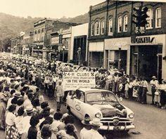 Parade in Elizabethton.