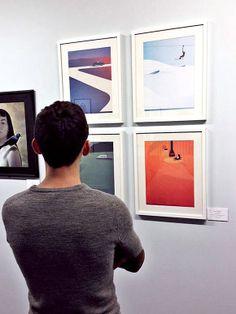 Ray Oranges x Society of Illustrators 56th anniversary exhibiton.  In occasion of their 56th exhibition, NYC' Society Of Illustrators welcomes Ray Oranges amongst its prestigious ranks...  #illustration #exhibiton