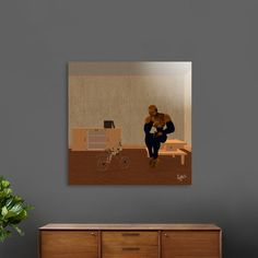 Discover «The Thinker», Limited Edition Acrylic Glass Print by Fotios Pavlopoulos - From $99 - Curioos