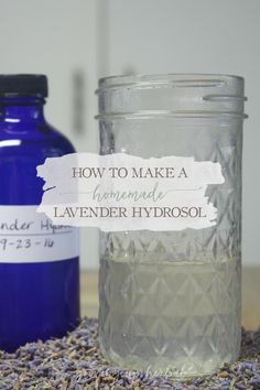 Learn how to make your own homemade lavender hydrosol in this step-by-step tutorial. Hydrosols are safe, effective, and have many uses. You've gotta try it!