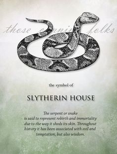 Snakes are innocent life, no evil. Through the looking glass this 'bizarro world', evil is Life. Wonder if that's why evil muggles are depicted stepping and squishing snakes, taking their skin to wear, ... or making souls in female skin suits lesser than those in male conveyances for a walk?
