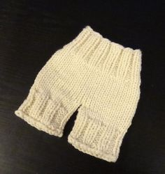 Newborn Knit Diaper Cover / Baby Girl Diaper Cover / by Ifonka, $16.00
