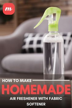 Febreze can get expensive, especially for larger families who go through it fast, and can end up costing several hundred dollars over the course of a year. That might not seem like much, but as family budgets go, every bit helps, so we eventually made a point to start making our own DIY homemade air freshener with fabric softener. #DIY #airfreshener #homemade #fabricsoftener Diy Cleaning Products, Cleaning Supplies, Homemade Air Freshener, Family Budget, Fabric Softener, How To Make Homemade, Diy Home Crafts, Spray Bottle, Families