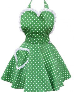 SundayGirl Deliciously Dotty Kelly Green Sweetheart Apron http://ift.tt/1WgHCzd Free UK shipping on this item #apron #aprons #retro #vintage #vintagelook #vintagestyle #vintagestyles #vintageinspired #thesundaygirlcompany #baking #kitchen #vintageglamour #rockabilly #polkadot #polkadots #claireabellascloset #newitemsaddeddaily #availableonwebsite by claireabellas_closet