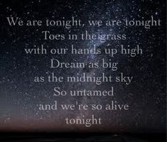 We Are Tonight- Billy Currington