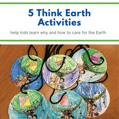 Fun, free learning activities teach kids about our natural #environment, how we use natural resources, what causes waste and pollution, & what we can all do to help keep our environment clean and healthy. Perfect for K-3 #distancelearning, homeschool, or just for fun! #thinkearth