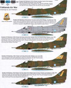 Falklands air war Military Weapons, Military Aircraft, Old Planes, Falklands War, War Thunder, Aircraft Painting, Jet Engine, Aircraft Pictures, Aviation Art
