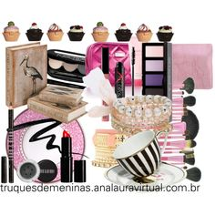 """Amo muito tudo isso #devaneios #beauty"" by truquesdemeninas on Polyvore"