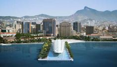 Architect Santiago Calatrava unveiled the design of the Museum of Tomorrow in Rio de Janeiro. The building of 12.500 m² will have solar collectors on the facade and mobile zone microclimate with water surface around the building to reduce temperature. It will be installed at Pier Maua, the port area of Rio de Janeiro. The inauguration is scheduled for the second half of 2012.