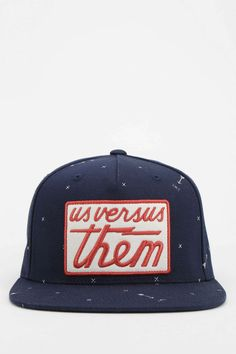 Us Versus Them X UO Arrow Snapback Hat - Urban Outfitters