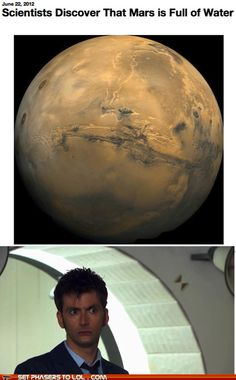 Never going to Mars.