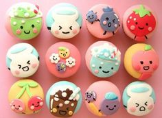 Puccho (japanese candy) cupcakes!!!