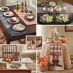 Autumn Table Accessories