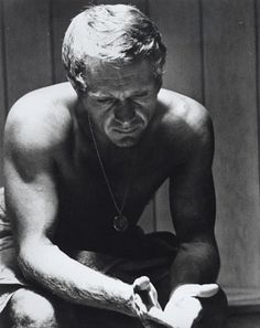 """Steve McQueen (1930–1980)   """"A fast 50 as opposed to a slow 80."""""""