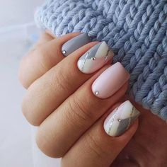 90 Everyday Nail Art Ideas 2019 in our App. Daily ideas of manicure and nail design. Gorgeous nails always! White Nails, Pink Nails, Glitter Nails, My Nails, White Glitter, Pink White, Nail Polish Designs, Acrylic Nail Designs, Nail Art Designs