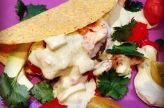 Vis taco's met tilapia en avocado; creme fraiche vervangen door geitenyoghurt