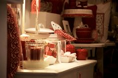 Shabby in rosso