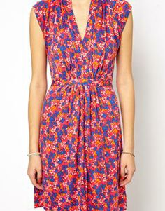 Image 3 of French Connection Fast Fredia Floral Dress