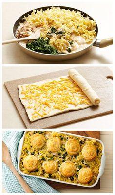 Creamy Spinach Tuna Casserole Recipe -