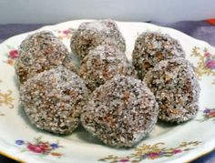 Posting for ZWT6 and found online at Gretchen Cooks.com for Swedish recipes.  These sound simple, quick and chocolately.  This is what the recipe states:  On Chokladbollar  These are a popular Swedish treat. This easy recipe is a fun activity for a childrens party. If youre concerned about the caffeine in the coffee - if youve been to a kids party recently, you know theyre wired enough - just substitute chocolate milk.)