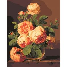 Yellow Roses Paint by Number Kit JC7013