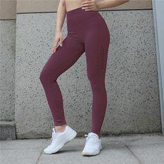 a1f80f6952f63 Yoga Pants Fitness Gym Leggings Seamless High Elastic Sports Wear – IDRAZ Shark  Leggings, Sports
