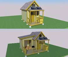 World's smallest house on wheels: Gypsy wagon - Simple Solar Homesteading Tiny House Cabin, Tiny House Design, Cabin Homes, A Frame Cabin Plans, Small Houses On Wheels, Teardrop Camper Plans, Homeless Housing, Off Grid Cabin, Backyard Sheds