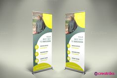 Business Roll Up Banner @creativework247