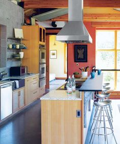 fumes in addition to warm from the discourteous identify during nutrient grooming The Best Kitchen Ventilation Ideas is Used past times Everyone Copper Farmhouse Sinks, Copper Kitchen, New Kitchen, Kitchen Decor, Copper Hood Vent, Vent Hood, Long Narrow Kitchen, Kitchen Ventilation, Kitchen Hoods