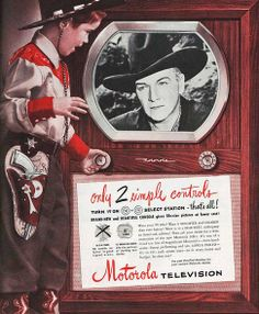 Vintage ads for TV and why its good for kids.
