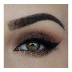 Winged eyeliner ❤ liked on Polyvore featuring beauty products, makeup, eye makeup and eyeliner
