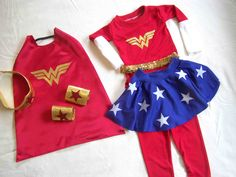 Made by Me. Shared with you.: Wonder Woman Halloween Costume