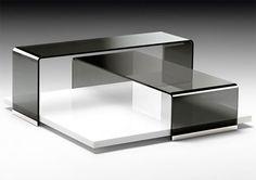 Rodolfo Dordoni Layers coffee table for Fiam