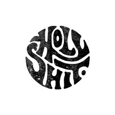 """""""Holy Shit by Foto von auf Ins … - Handlettering und Typografie Types Of Lettering, Lettering Design, Lettering Styles, Letras Cool, Inspiration Typographie, Typography Letters, Grafik Design, Graphic Design Inspiration, Word Art"""