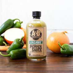 Organic Jalapeño Pepper Sauce by A&B American Style on Gourmly
