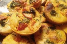 These are so adorable. Little quiches that hold a lot of flavor. I filled these with spinach, tomato, and cheddar cheese. They taste kind of like a sophisticated grilled cheese sandwich. You can fill them with whatever you like. For a great party idea, make this using mini-muffin tins and you have a cute and classy finger food. The Lemon Cashew Cream adds a bright and light touch.