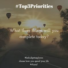 #top3priorities Journal Prompts, Productivity, Budgeting, Creativity, Motivation, Learning, Quotes, Life, Ideas