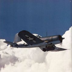 F4U-1A with a Brewster bomb rack