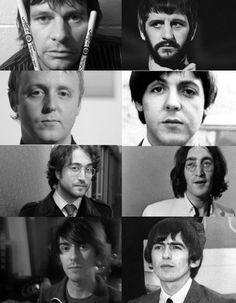 the Beatles' sons what look a likes!
