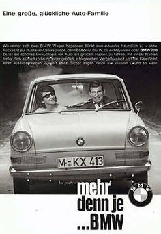 BMW in the 60s (BMW 700)