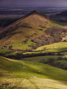 "Get up in the Shropshire Hills again with ""The Lark Ascending"" on my earphones."