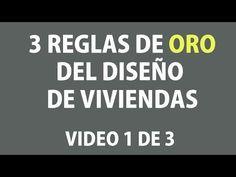 ▶ Las 3 Reglas de Oro del Diseño de Viviendas. Tutorial 1 de 3 - YouTube